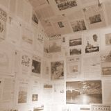Incredible Newspaper Wallpaper Diy Awesome Old Newspaper as Wallpaper No Way Get Those Articles On A