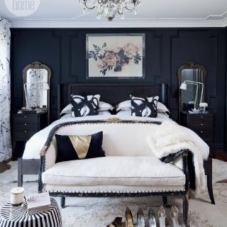 Inspirational Blue and Silver Bedroom Awesome Bedroom