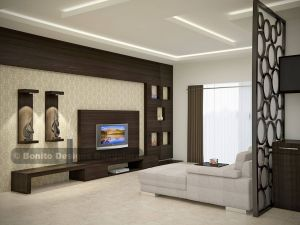 Inspirational Partition Living Room Lovely Be Amazed to See This Sleek Modular End to End Spacious Tv