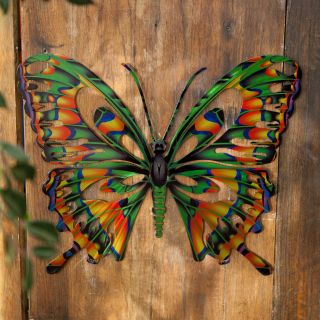 Large Outdoor butterfly Decorations Awesome Have to Have It 3d butterfly Metal Outdoor Wall Art $39 99