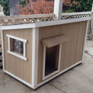 Modern Dog House Awesome Home Made Dog House My Husband Built with A Sliding Window