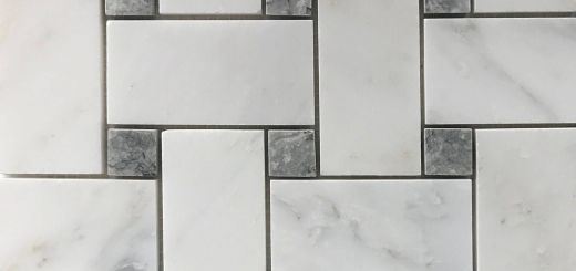 Mosaic Tile Backsplash Awesome Basketweave Mosaic 2 Inch Tile asian Carrara Grey Marble New Basketweave Mosaic 2 Inch Tile asian Carrara Grey Marble