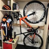 New Bike Racks for Small Spaces Elegant Bike Cabinet Created Using A Steadyrack Bike Rack Design