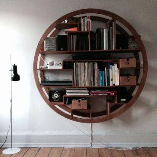 New Circular Bookshelf Lovely Round Shelves From Bari sol