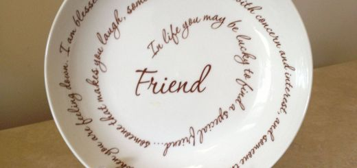 New Decorative Plates with Sayings New This Appears to Be A Simple Friendship Plate but when Your