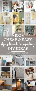 New Diy Home Decor Beautiful 100 Cheap and Easy Diy Apartment Decorating Ideas