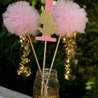 New Diy Party Centerpieces Luxury Unicorn Party Pink and Gold First Birthday Centerpiece Table