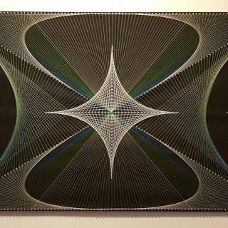 Picturesque Geometric String Art Patterns Luxury Pin On String Art