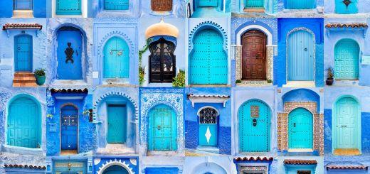 Picturesque What Color Goes with Mint New Doors Of the World Chefchaouen Morocco