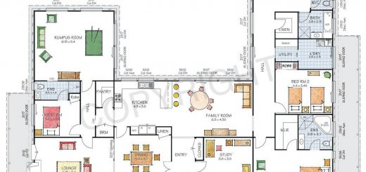 Remarkable Environmentally Friendly House Plans Beautiful Floor Plan Friday U Shaped Home