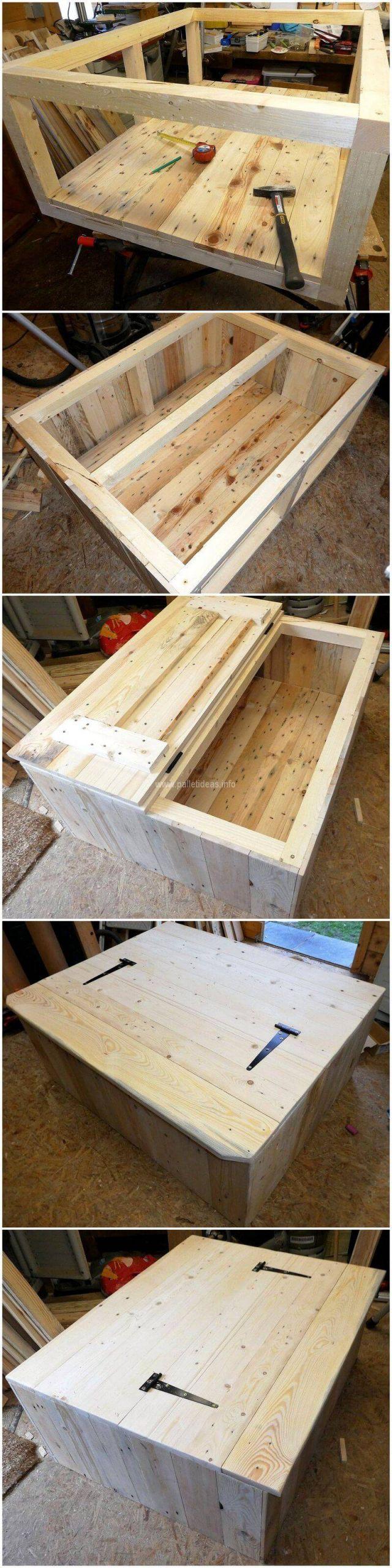 DIY pallet table plan