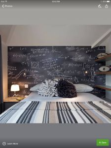 Remarkable Simple Wall Paint Design Unique Blackboard Wall