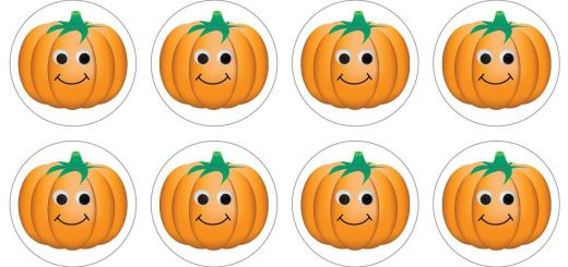 Styrofoam Pumpkins wholesale Lovely Hygloss Products Happy Pumpkins Stickers