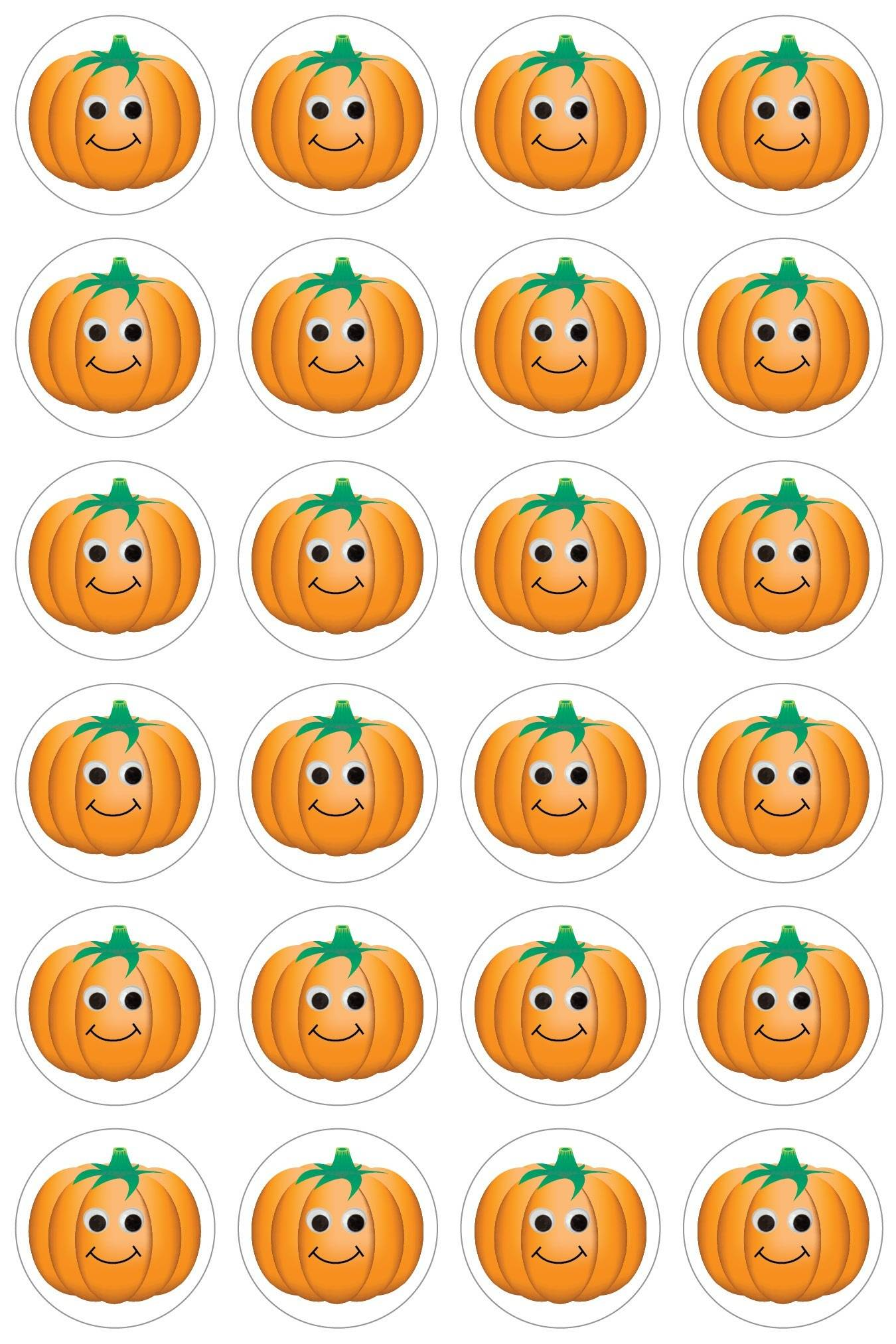 happy pumpkins stickers eca