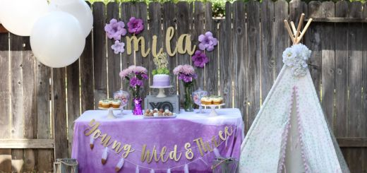 Unique Boho Birthday Party Beautiful Young Wild and Three Birthday Party Birthday Party themes