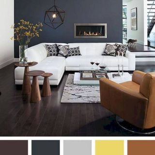 Unique Colour Combinations for Living Rooms Best Of 40 Gorgeous Living Room Color Schemes Ideas 30