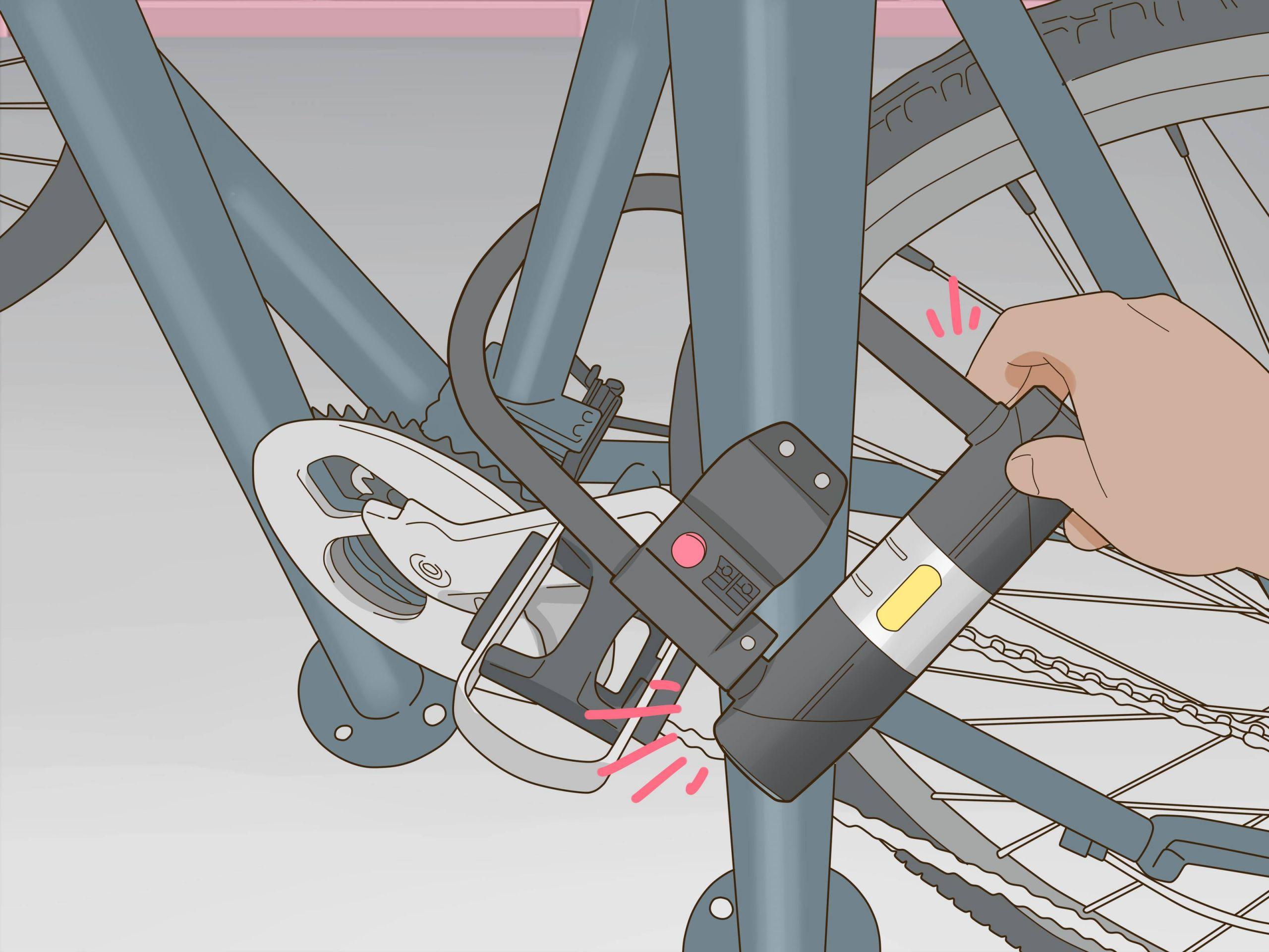 Put a Bike on a Bike Rack Step 12