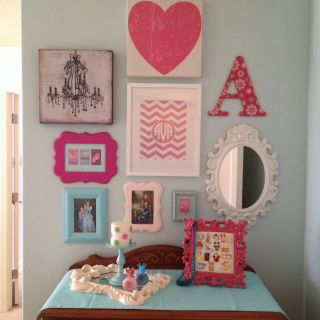 Unique Princess Wall Decorations Bedrooms Awesome Girls Room Gallery Wall