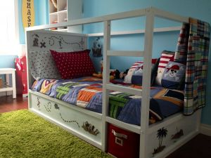 Unique toddler Bunk Beds Ikea Elegant Ikea Bunk Bed Made Into A Pirate Ship