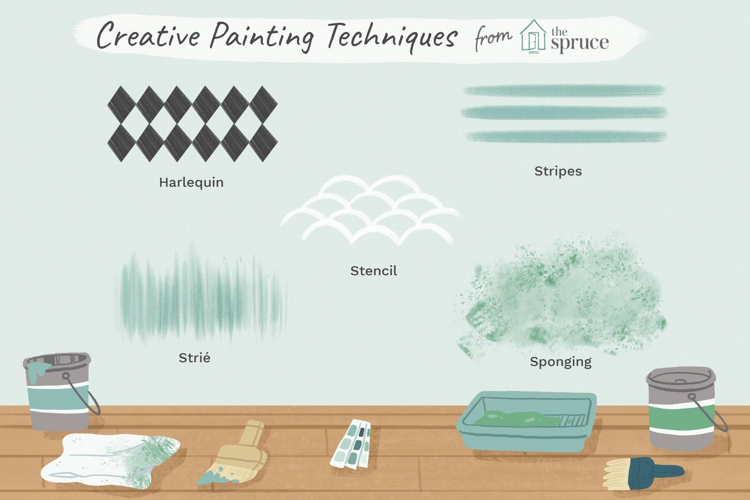 decorative paint techniques for bedroom walls Final a143cc3e6d164ffda2537cb4642b1880