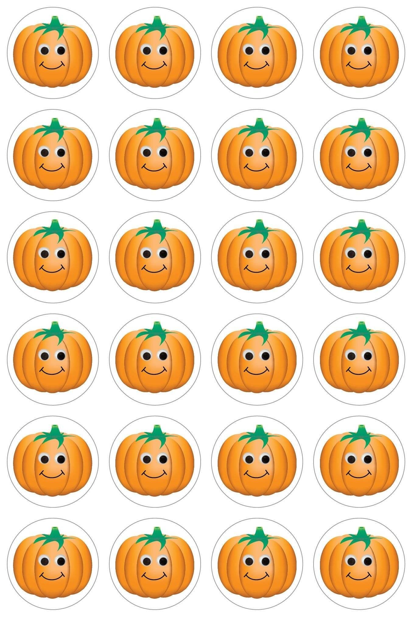 happy pumpkins stickers eca