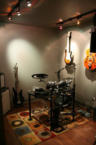 music room lighting ideas