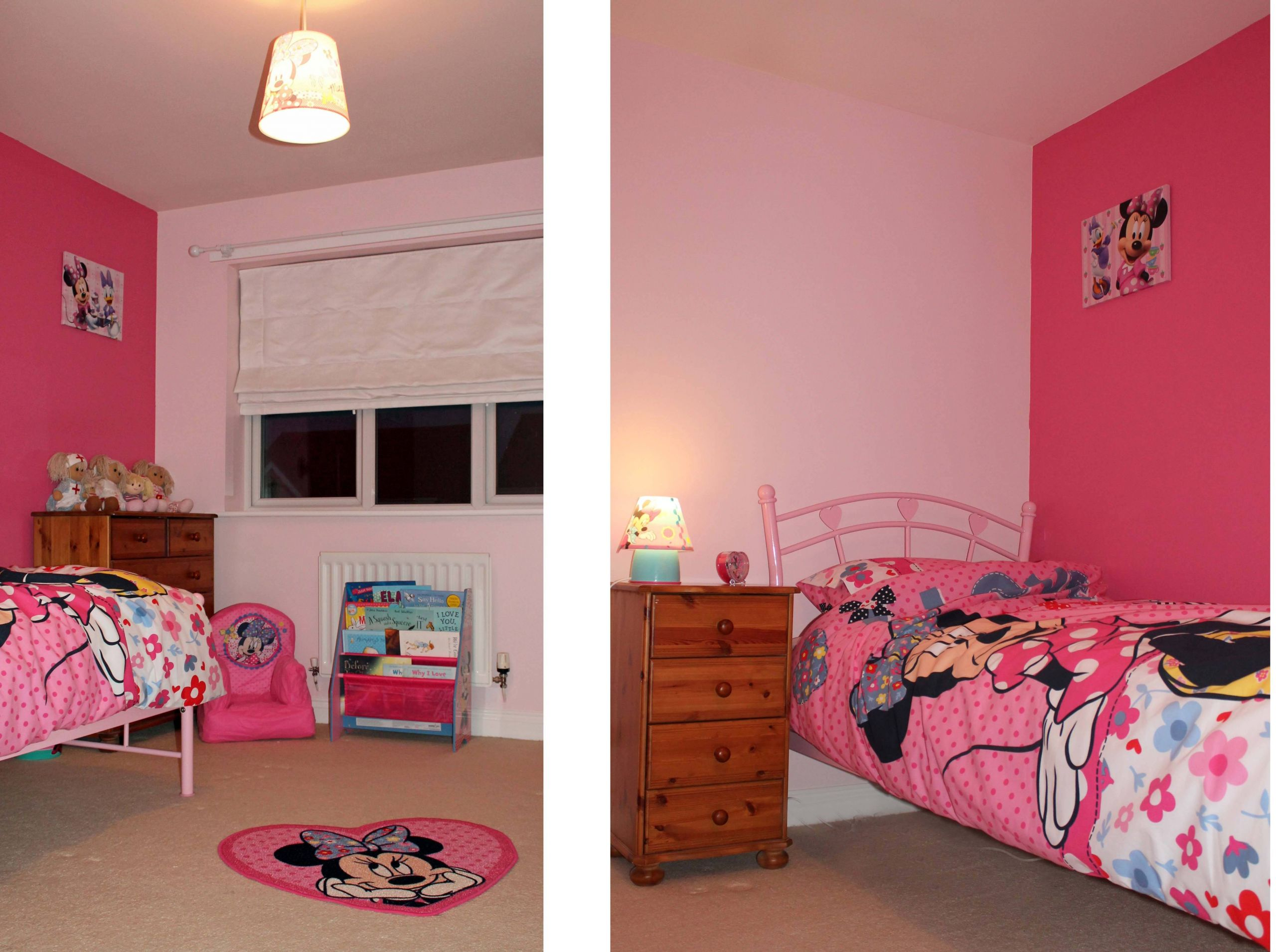 minnie mouse bedroom color ideas