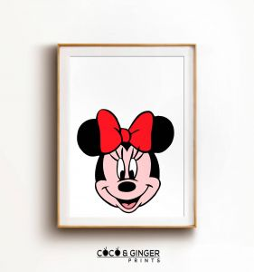 Minnie Mouse Wall Decor Luxury Minnie Mouse Wall Art Minnie Mouse Print Minnie Mouse Decor Minnie Mouse Nursery Disney Prints Mickey Mouse Poster Nursery Decor