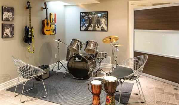 Music Room Decorating Ideas