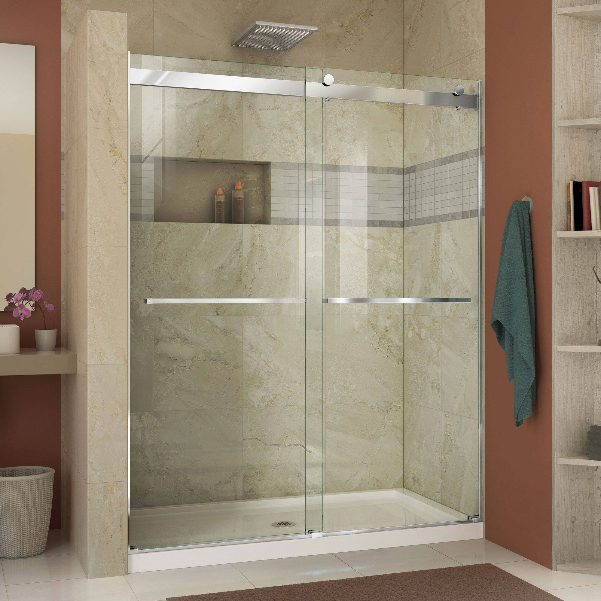 Exceptional Walk In Shower Sizes Inspirational 57 Best Barn Style Shower Doors by Dreamline Images