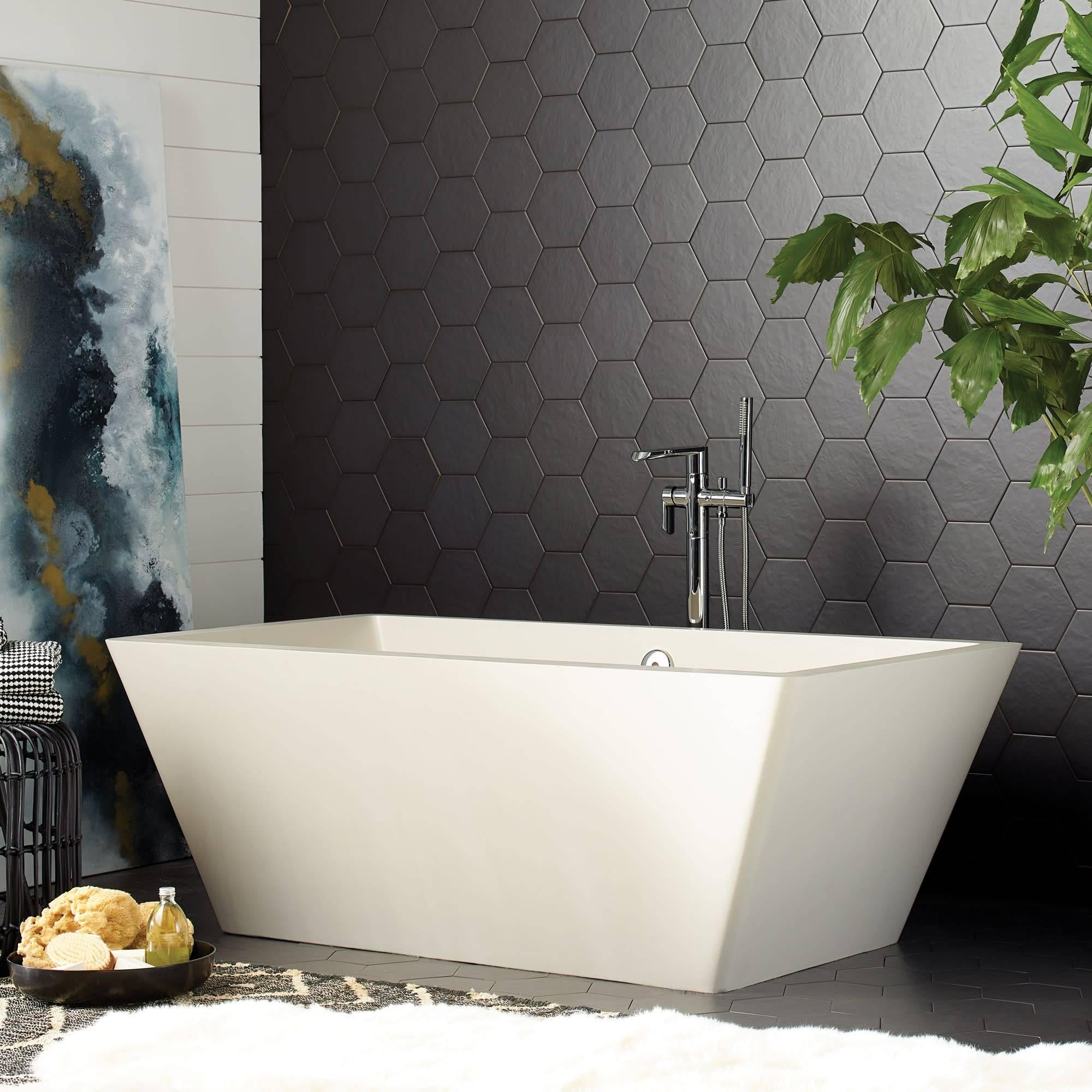 Mendocino Concrete Bathtub Pearl NST6634 P 2000 tixmun