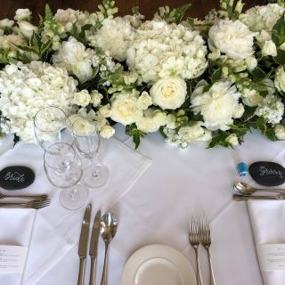 Exceptional Wedding Decorations with Hydrangeas Lovely A Stylish and Classy top Table Arrangement for A Summer
