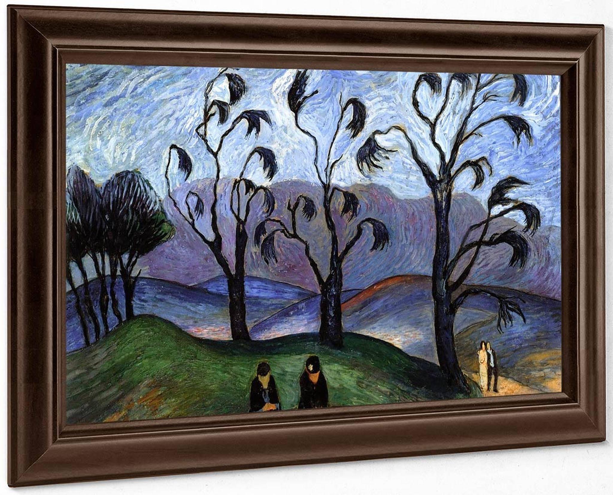 fantastic landscape marianne von werefkin