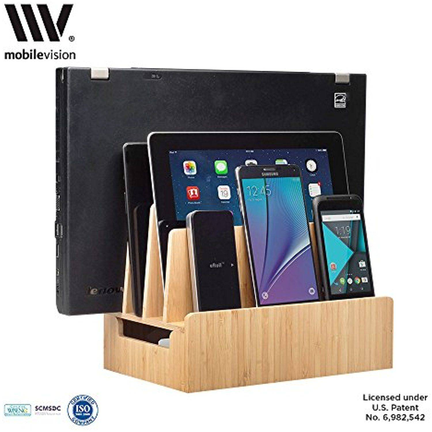 New Diy Charging Station organizer Inspirational Mobilevision Bamboo Charging Station Accessories