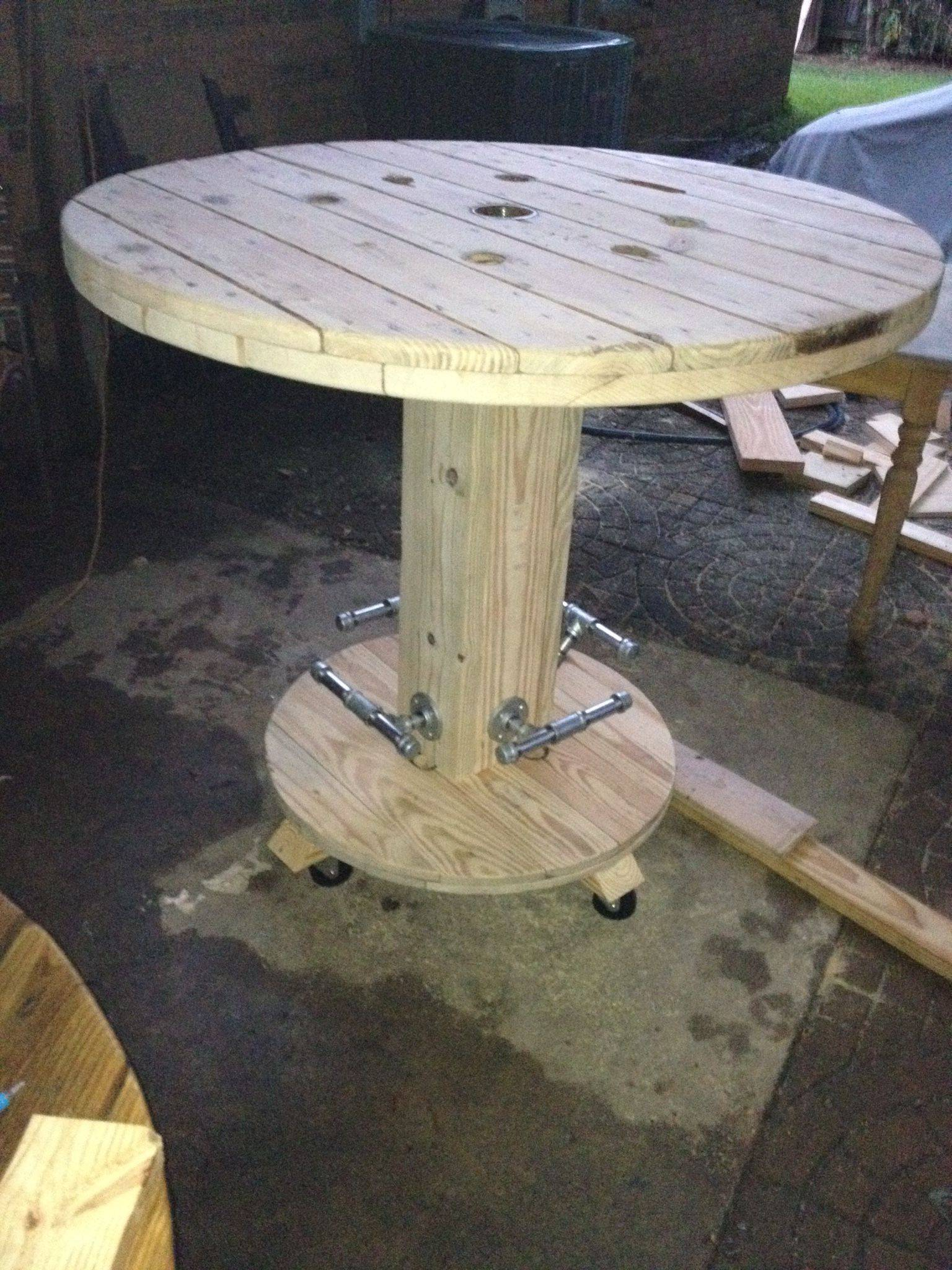 Fantastic Cable Drum Table Luxury Cindy Harrison Cindyharrisonvh On Pinterest