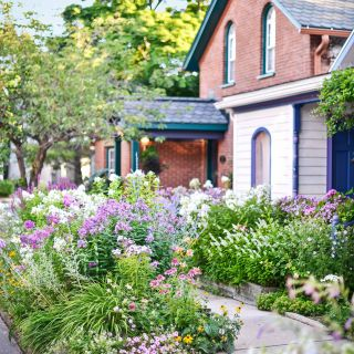 Remarkable Flower Bed Ideas Front Of House Fresh Street Side Gardens Inspirational Lawnless Front Yards