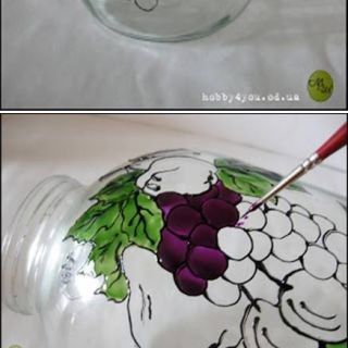 Remarkable Glass Paint Designs Awesome 204 Best Painting Glass Images