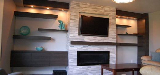Remarkable How to Decorate A Wall Unit Beautiful Custom Modern Wall Unit Made Pletely From A Printed