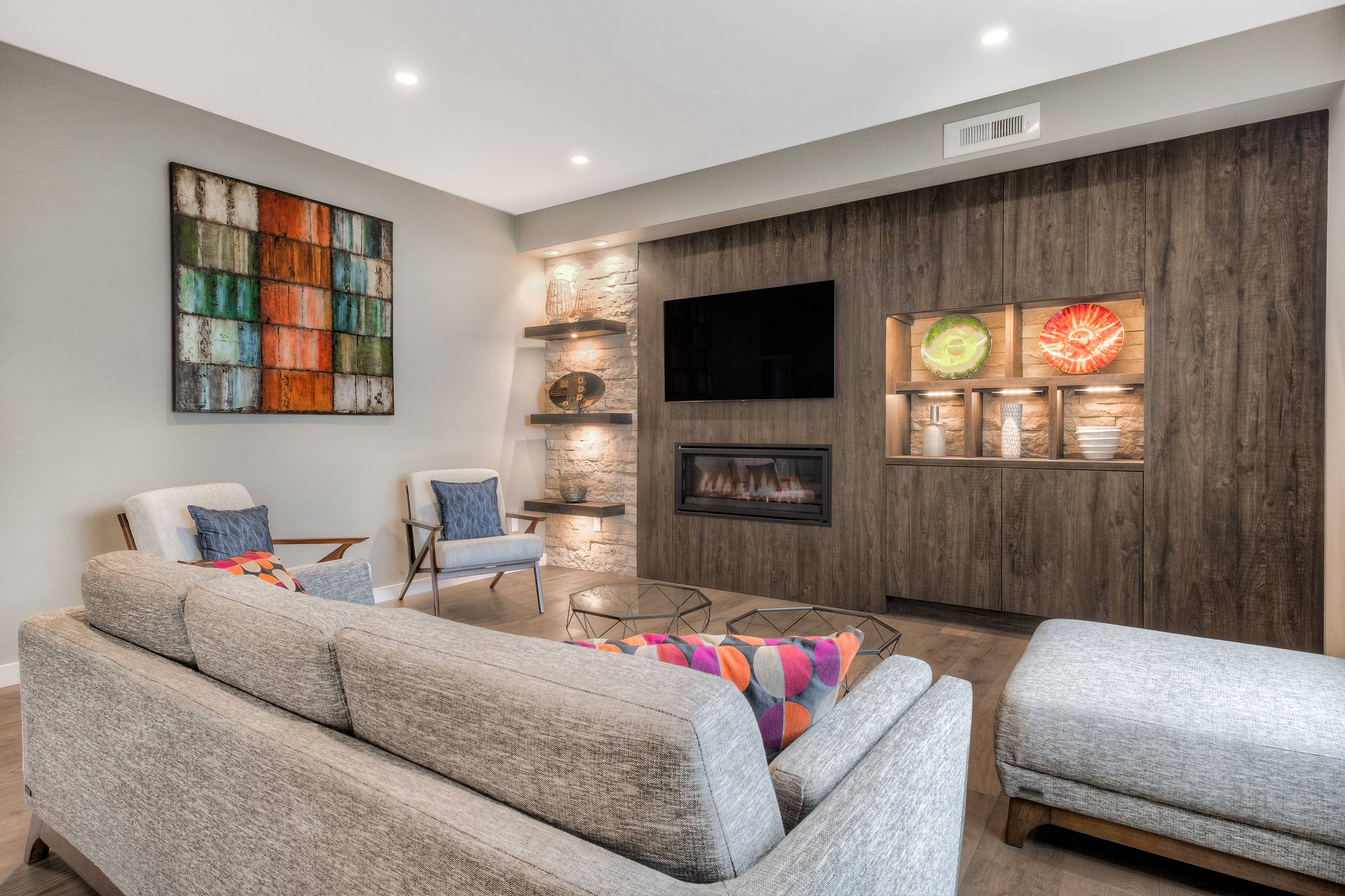 Remarkable How to Decorate A Wall Unit Luxury Art Entertainment Center