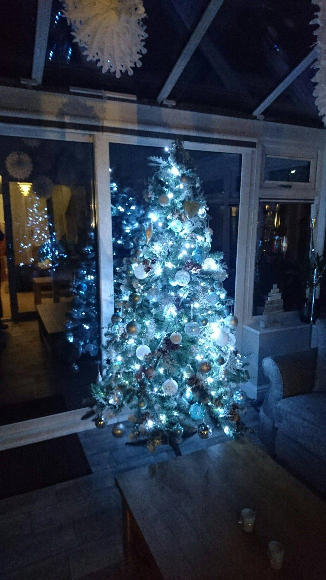 Aqua Blue Christmas Decorations Awesome Christmas Decorations White Silver Glass Blue Green