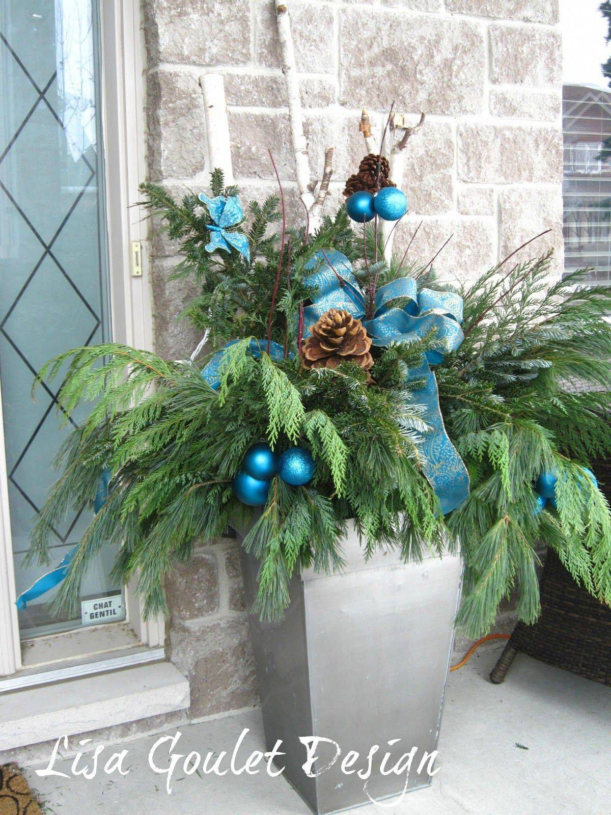 Aqua Blue Christmas Decorations Luxury Nature Image with Images