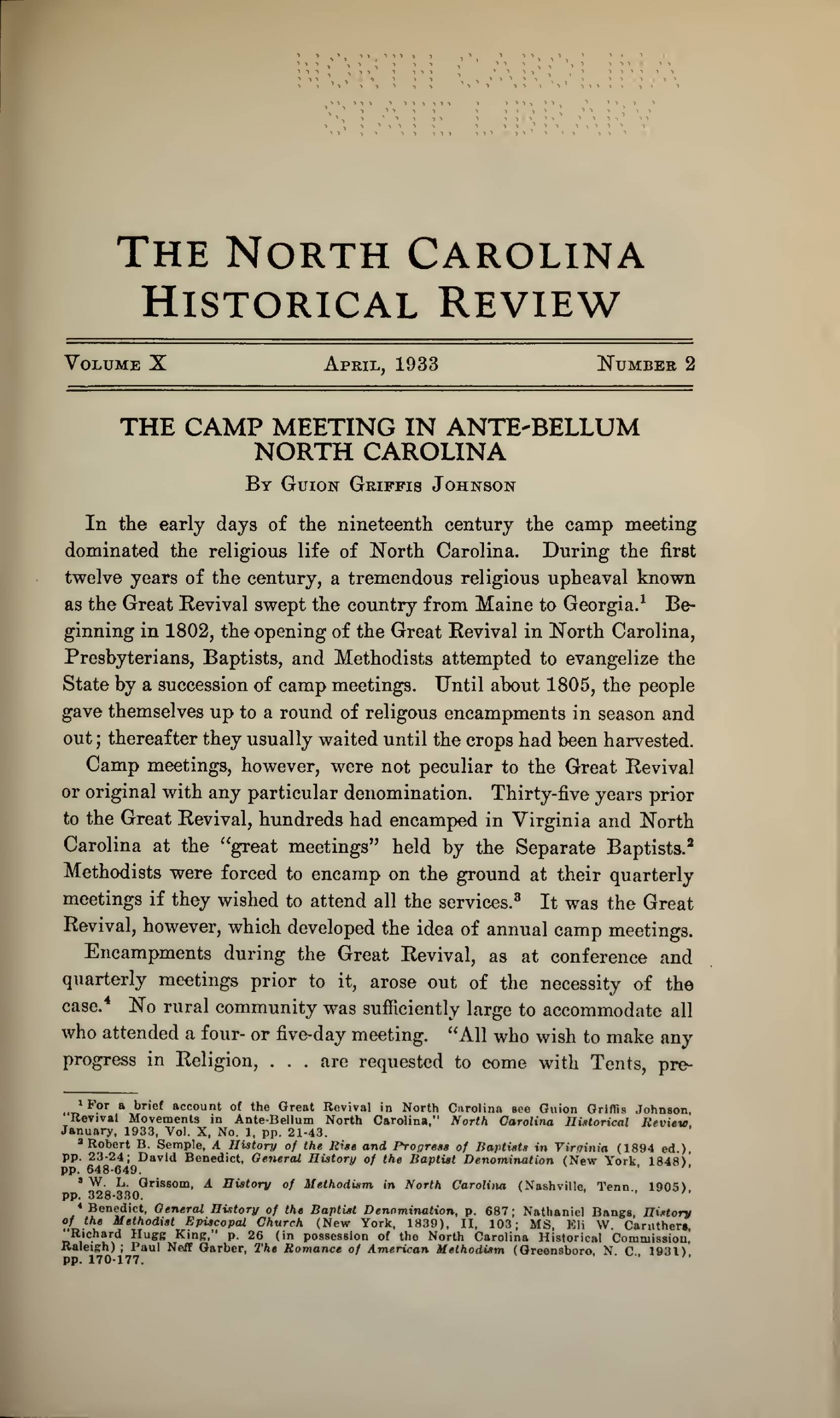 Decorum Brunswick, Ga Awesome north Carolina Historical Review [1933 April] State
