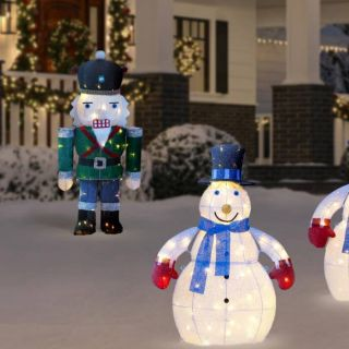 Disney Outdoor Christmas Decorations Elegant Outdoor Christmas Decorations the Home Depot