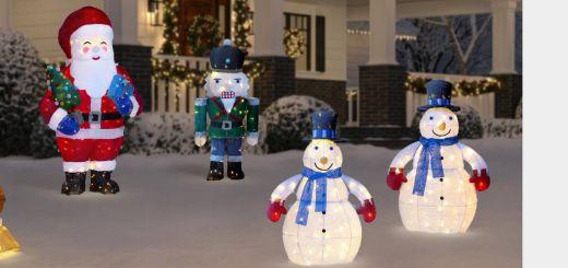 Disney Outdoor Christmas Decorations Elegant Outdoor Christmas Decorations the Home Depot