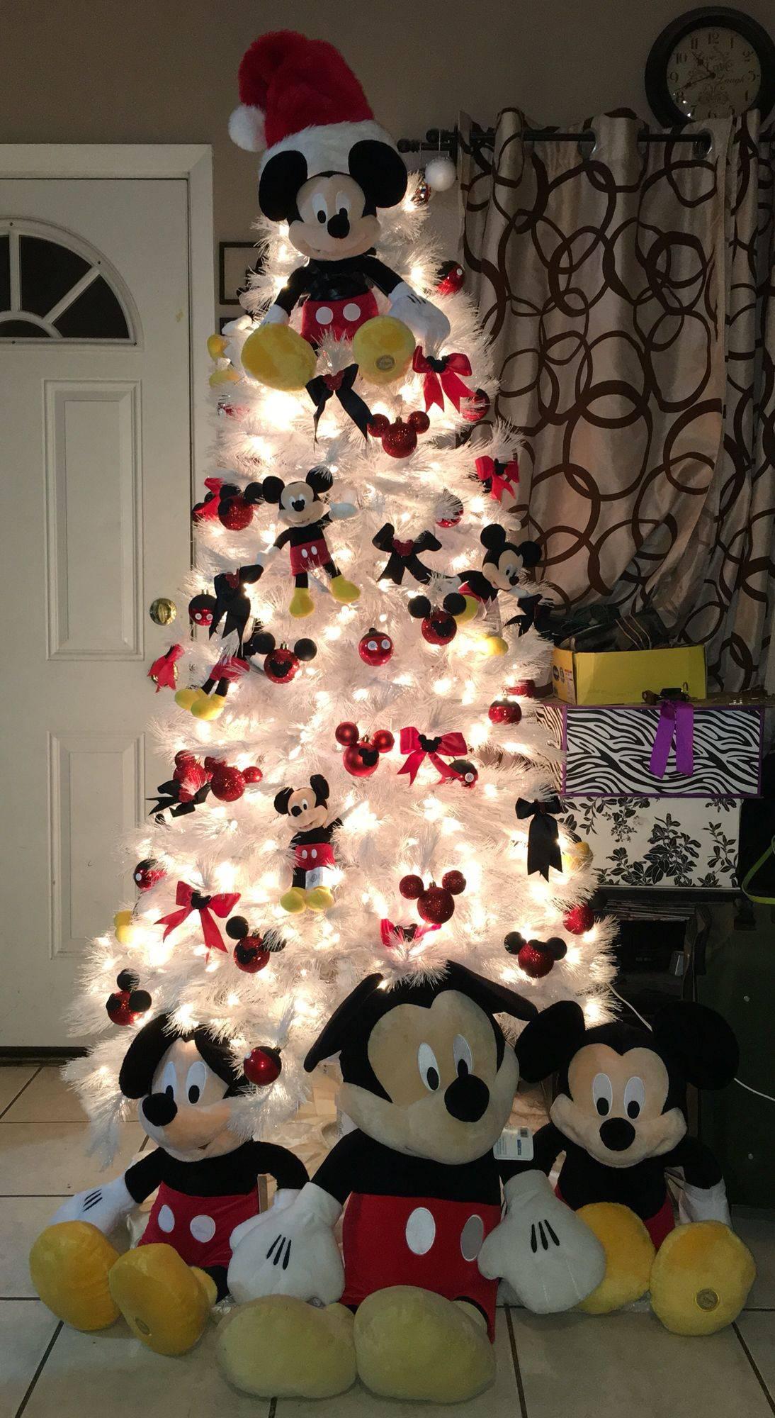 Disney Outdoor Christmas Decorations Inspirational Mickey Mouse Christmas Tree Diy