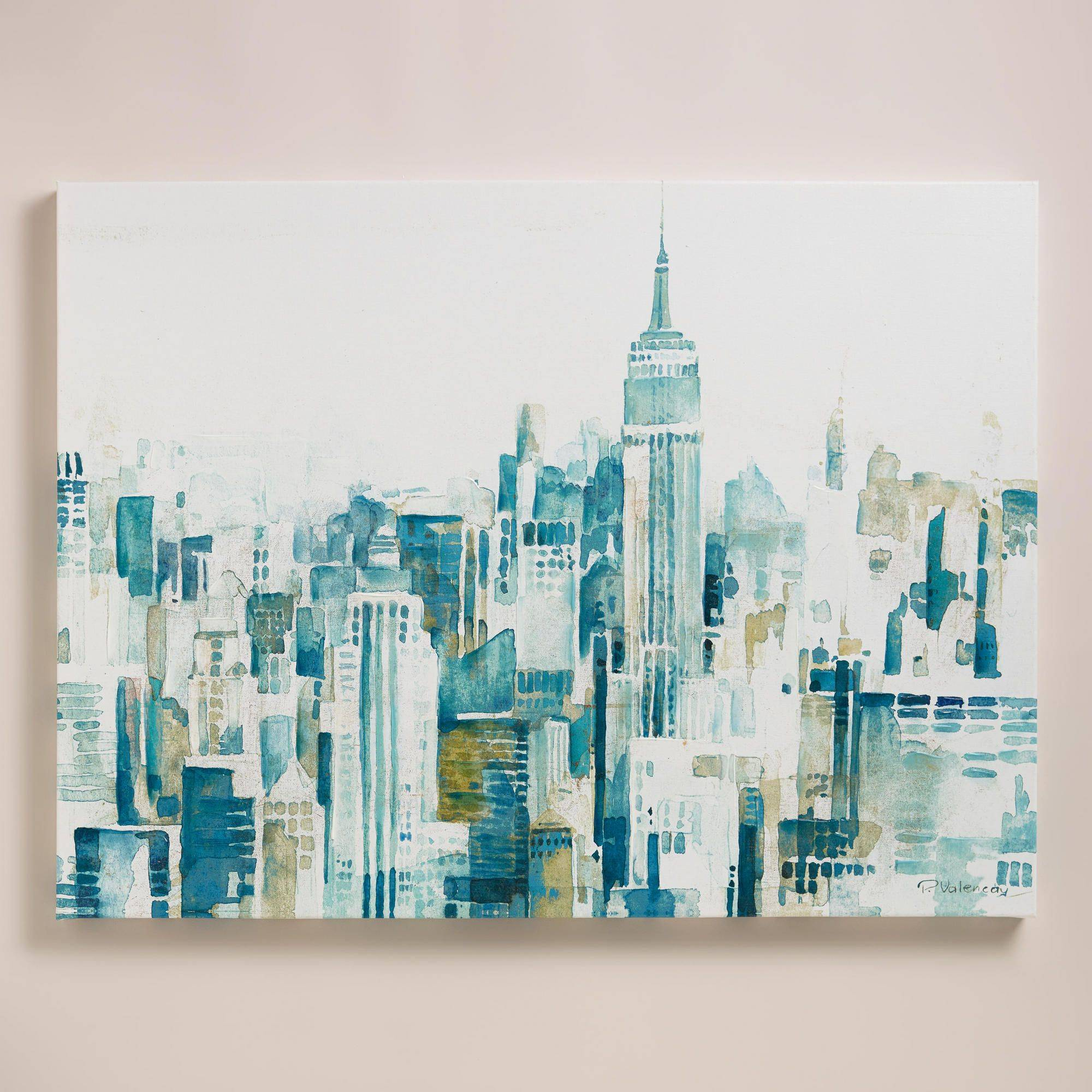 "Ela Jarek Awesome Watercolor City"" by Ela Jarek"