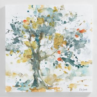 Ela Jarek Beautiful Watercolor Trees by Ela Jarek