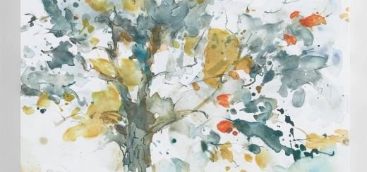 Ela Jarek Beautiful Watercolor Trees by Ela Jarek