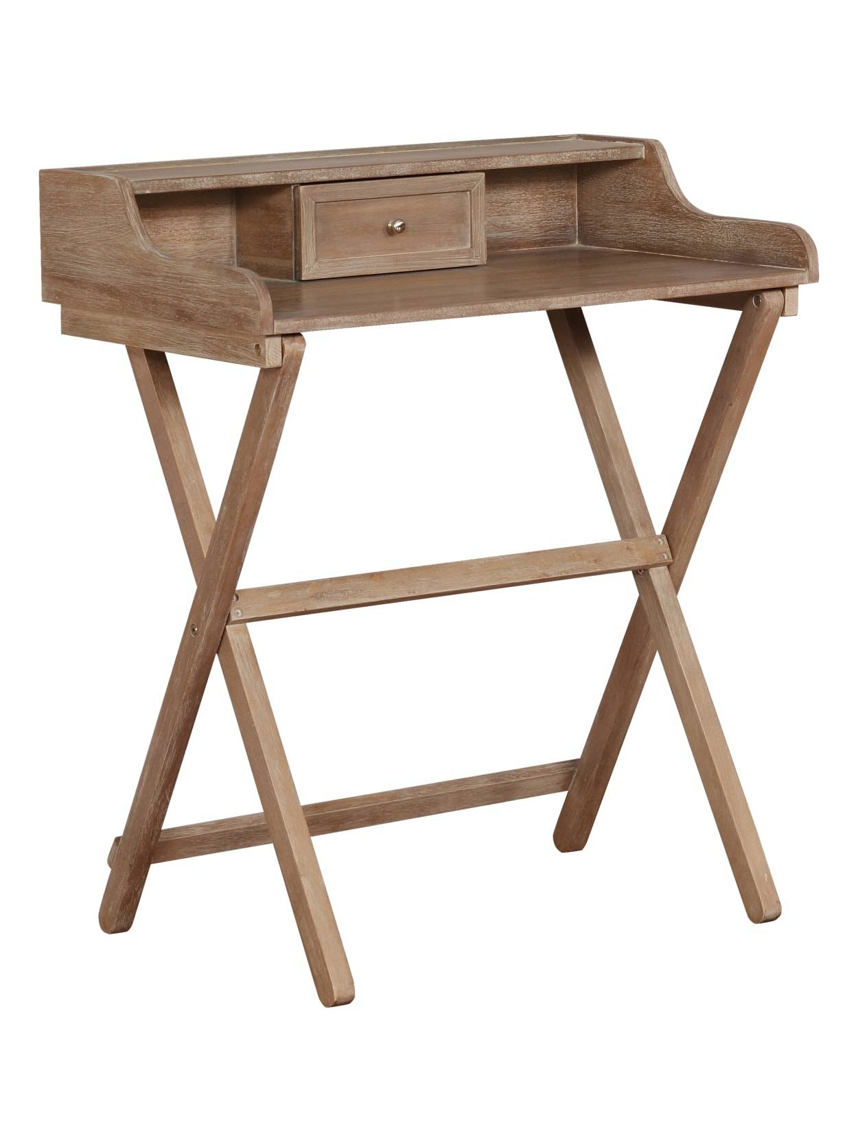 o01 linon home decor products gage folding desk