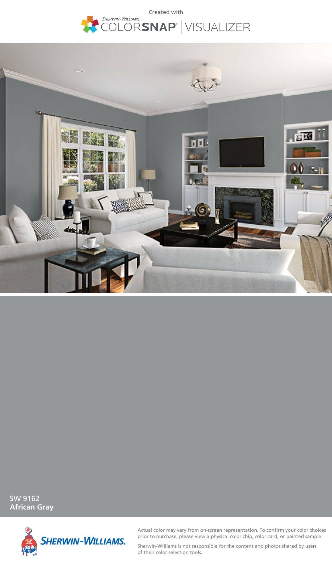 Highland Grey Sherwin Williams Luxury Paint Color Matching App Colorsnap Paint Color App
